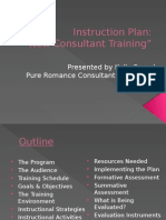 instruction plan pp