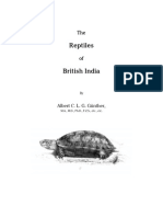 Albert Gunther - Reptiles of India