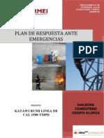6.- Plan de Respuesta Ante Emergencias