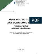 BXD_588-QD_2952014 Định Mức Dự Toán Xây Dựngpdf