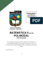 Módulo Yanina Mat CO II SI