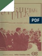 Segunda Fila. 1925-1973. (1987)