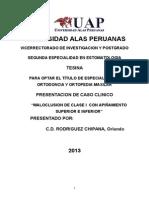 tesis ortodoncia