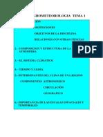 Curso Agrometeorologia Tema 1-1