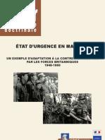 """""""ETAT D'URGENCE EN MALAISIE"""