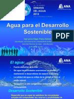 Agua y Desarrollo 20.03.2015