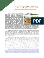Pengembangan Biogas Mengatasi Kenaikan Harga Bahan Bakar