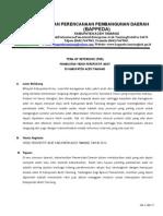 Term of Reference Film Dokumenter Adat