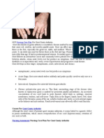Ncp Nursing Care Plan for Gout Gouty Arthritis