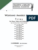 W. A. Mozart Trio in Ebmajor K.498