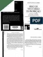 Erro de Tipo & Erro de Proibição - Luiz Flavio Gomes