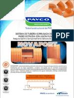 Catalogo Tub Pvc Corrug. Ntp 399.163 Novafort Peru