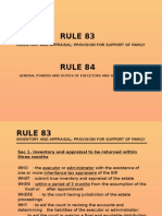 Rule 83 and 84 Powerpoint