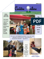 March 2015 Edition of the Caddie Online