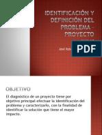 Identificación y Definición Del Problema - Proyecto