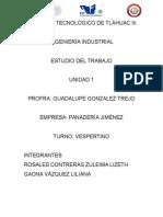 TRABAJO PROYECTO ESTUDIO DEL TRABAJO.docx