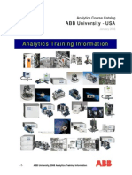 ABB University Analytics USA Training Catalog 2008
