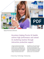 Accenture Procter Gamble Marketing Mastery