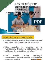 04 Modelos, Modalidades, Criterios y Estrategias