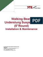 Walking Beam Under Slung Suspension