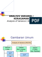 Analisis Variance