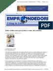 2009-08-24 - Pedir Crédito Como Pessoa Física é Ruim, Diz Consultor