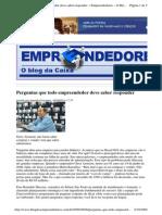 2009-09-08 - Perguntas Que Todo Empreendedor Deve Saber Responder