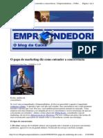 2009-09-25 - O Papa Do Marketing Diz Como Entender a Concorrência