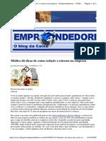 2009-10-13 - Médico Dá Dicas de Como Reduzir o Estresse Na Empresa