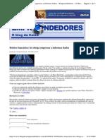 2009-11-02 - Boletos Bancários, Lei Obriga Empresas a Informar Dados