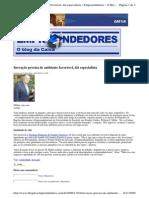 2009-11-04 - Inovação Precisa de Ambiente Favorável, Diz Especialista