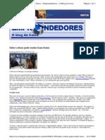 2009-11-05 - Saber Cobrar Pode Render Bons Frutos