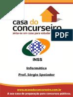 Apostila INSS Recife.2014 Informatica SergioSpolador
