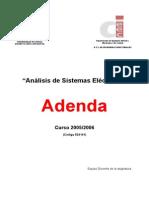 Análisis de Sistemas Eléctricos - Adenda