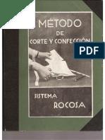 Metode de Corte Y Confeccion Sistema Rocosa 1918-1920