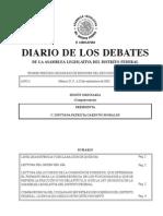Documentos manifestaciones 2001-2014