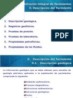 AIY Administración Integral de Yacimientos Capítulo II