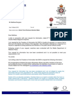 Wiltshire Police FOI emails on Charlie Hebdo