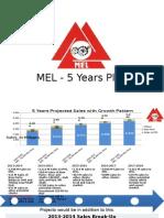 MEL 5 Year Plan Final