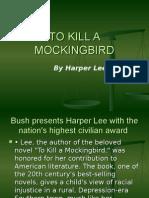To Kill a Mockingbird Chapter Notes