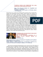 Evaluation of national bonds and currencies