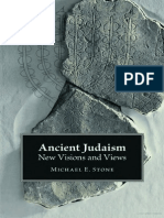 Michael E Stone Ancient Judaism New Visions and Views 2011 Copia