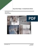 TR Rolling Contact Fatigue Comprehensive Review Final