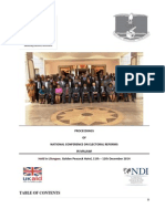 Final Report - National Conference on Electoral Reforms-Lilongwe 13-02-15