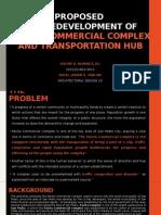 Design 10 Proposed Redevelopment of Pacita Commercial Complex (Alvarez, Solon Jr., V.)