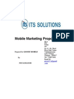Mobile Marketing Proposal