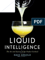 Liquid Intelligence the Art and Science of the Perfect Cocktail