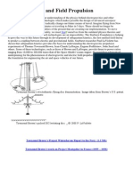 Electrogravitics and Field Propulsion