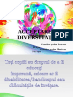 acceptarea diversitatii