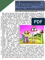 Hoja Parroquial nº 1481 22 marzo 2015